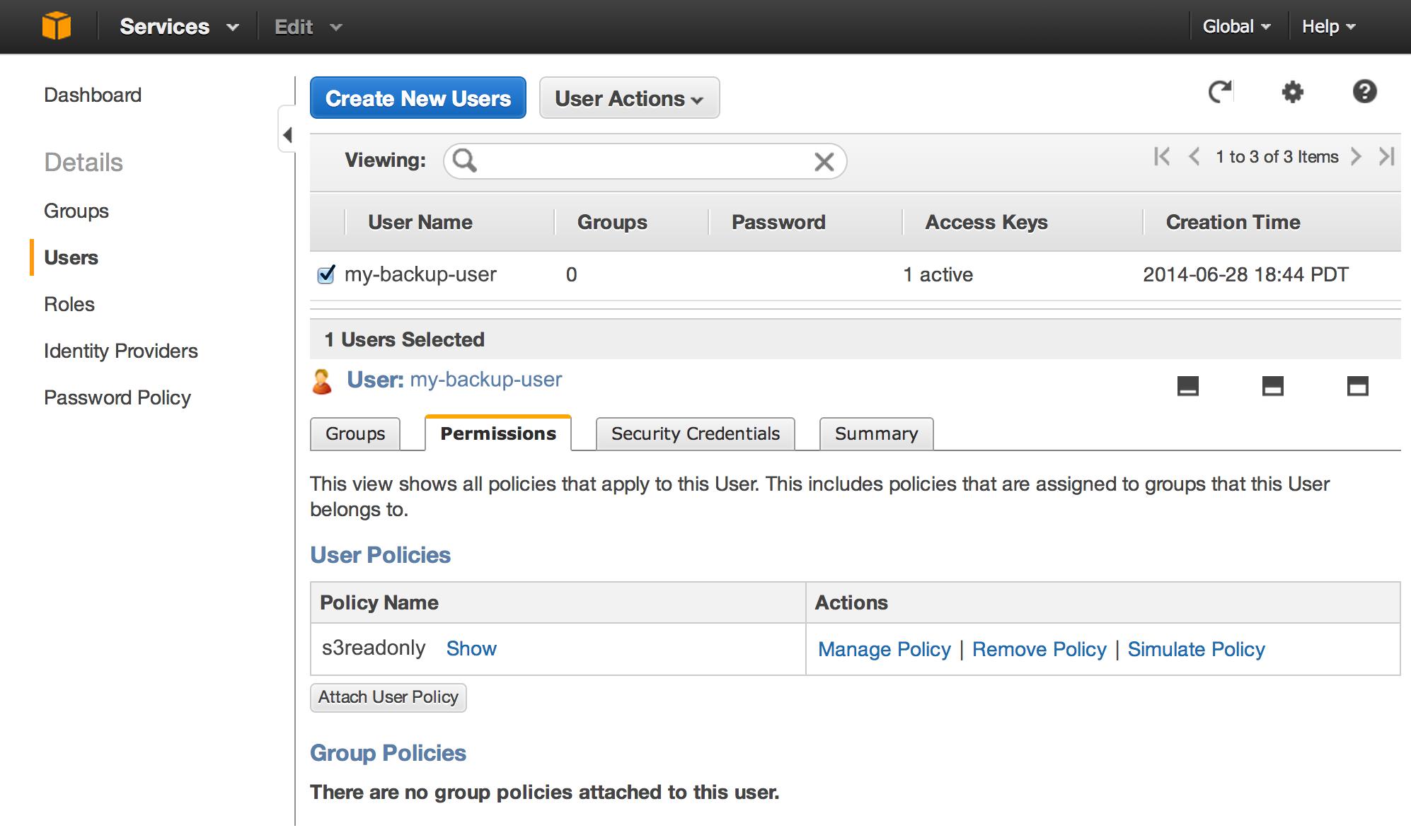 Backing Up Websites to Amazon S3   Cryptic Zone